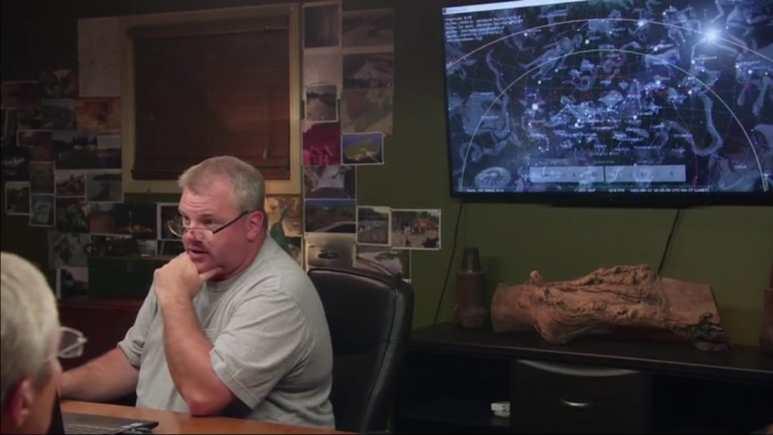 Chris Donah on Curse of Oak Island
