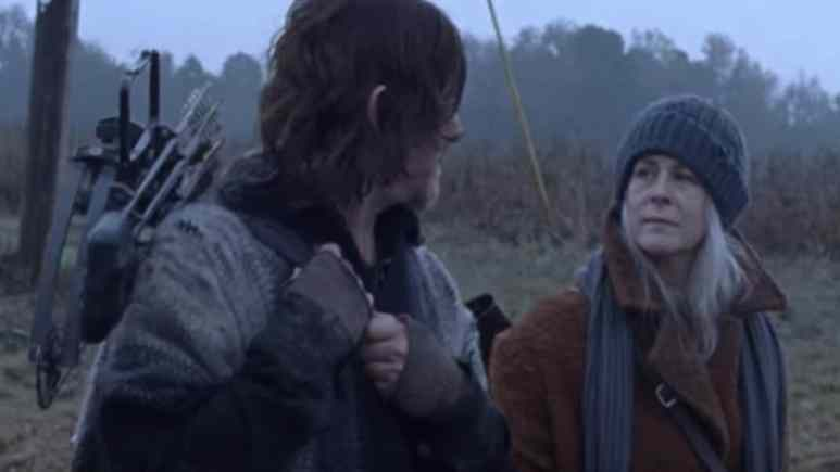 Norman Reedus and Melissa McBride on The Walking Dead cast