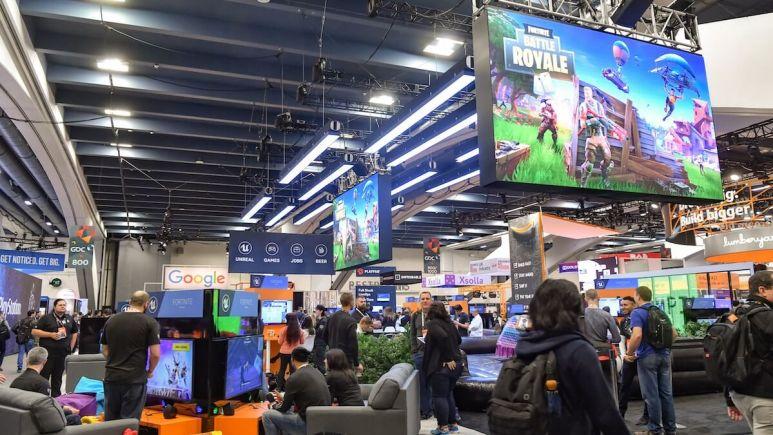 Fortnite Battle Royale at GDC 2018 in San Francisco