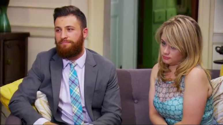 Luke and Kate on Married at First Sight