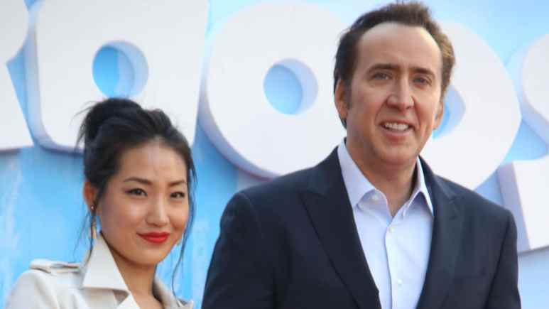 Nicolas Cage and Alice Kim