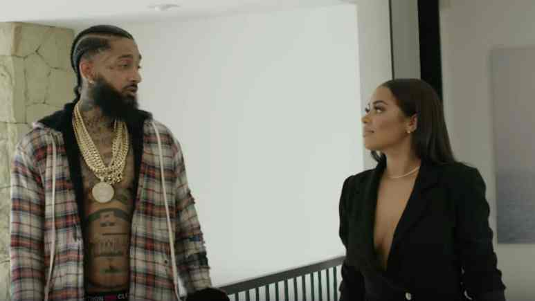 Lauren London Nipsey together