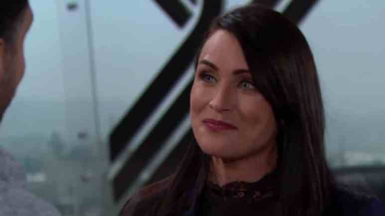 Rena Sofer as Quinn Fuller on The Bold and the Beautiful.