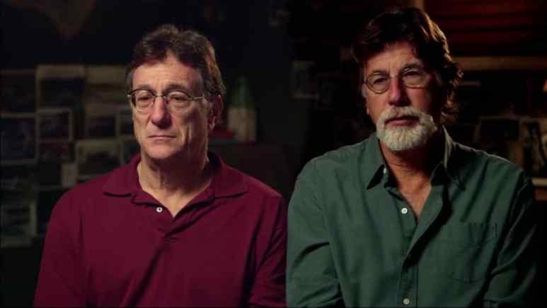 Rick and Marty Lagina on Curse of Oak Island