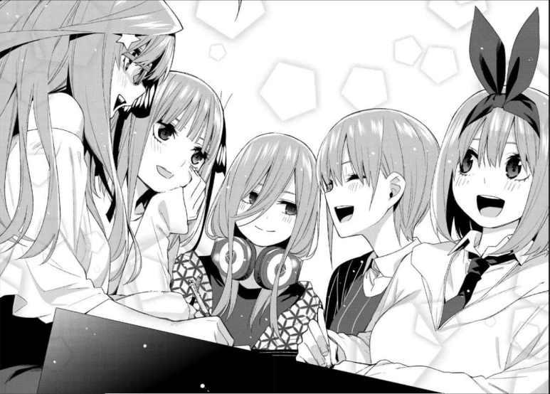 The Quintessential Quintuplets Manga Girls