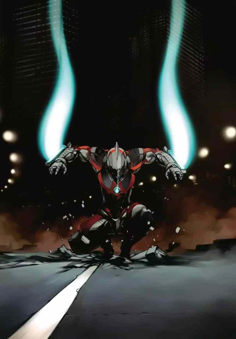 Ultraman Manga Art