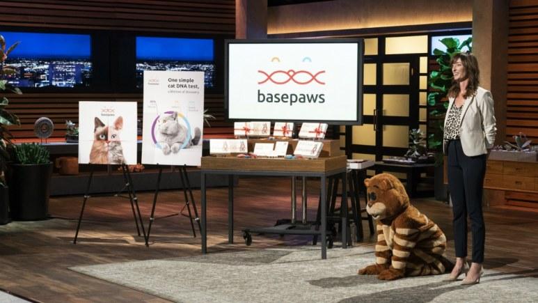 Anna Skaya presents Basepaws on Shark Tank