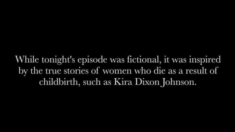 Kira Dixon Johnson remembered on The Resident