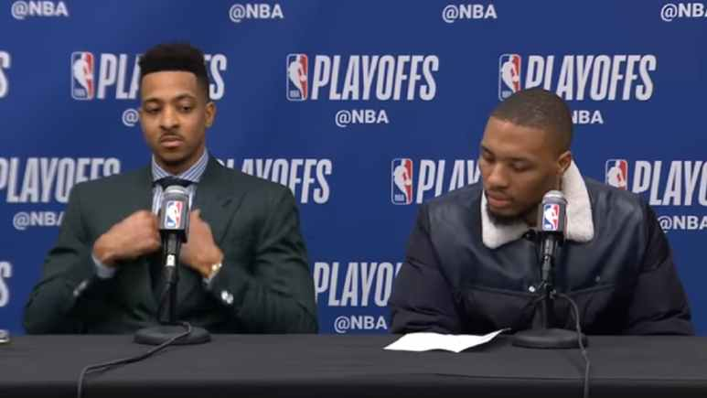 CJ McCollum & Damian Lillard lead the Blazers against the Warriors in 2019 NBA Playoffs