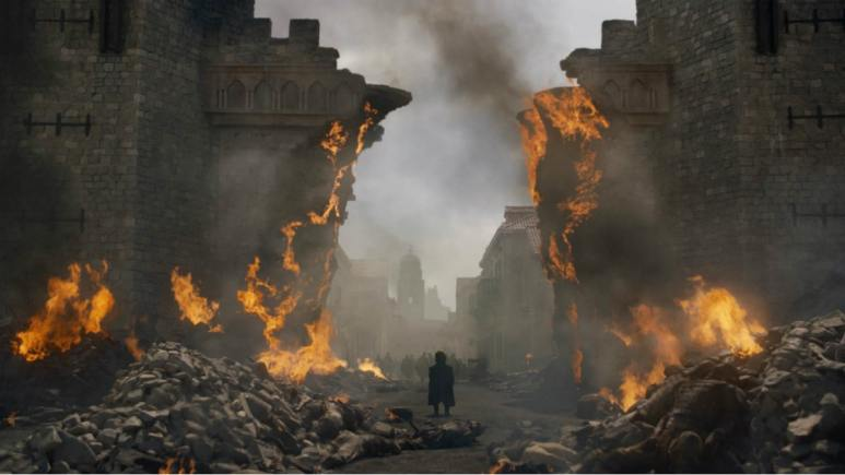Still from HBO's 'Game of Thrones' Season 8 finale, Episode 6