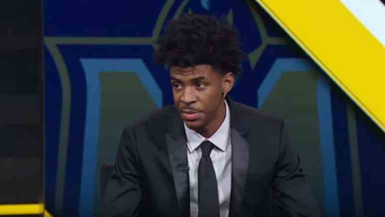 Ja Morant is expected to be one of the first players selected in the 2019 NBA Draft