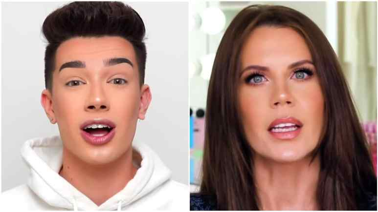 James Charles and Tati Westbrook YouTube videos