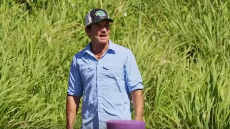 Jeff Probst during Survivor Season 39 finale