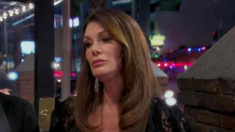 Lisa Vanderpump on The Real Housewives of Beverly Hills.
