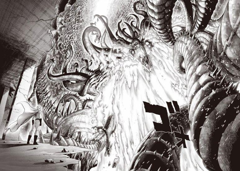 One Punch Man Manga Saitama vs Orochi