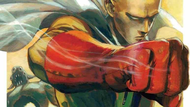 One Punch Man manga artwork