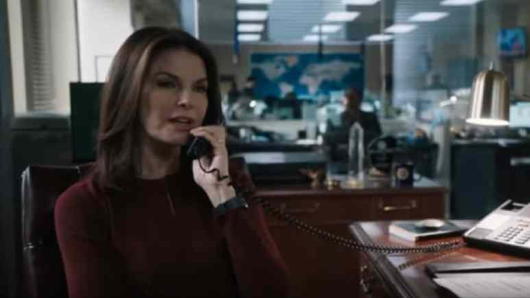 Sela Ward played Special Agent in Charge Dana Mosier on FBI cast