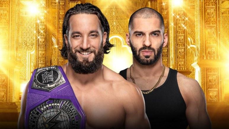 WWE Cruiserweight Champion Tony Nese to battle Ariya Daivari