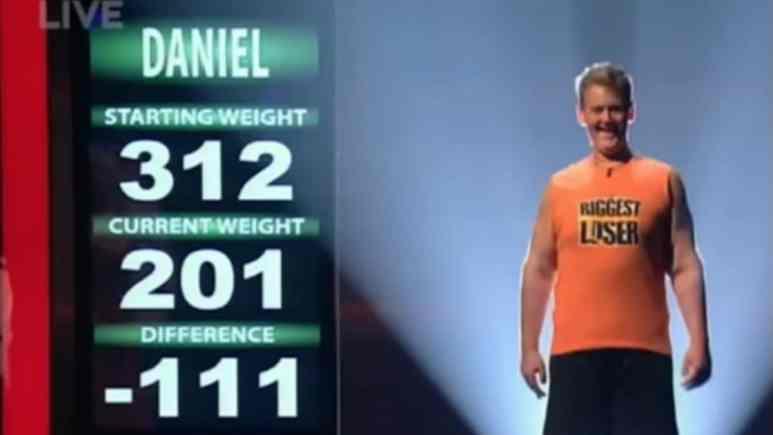 Daniel Wright on The Biggest Loser Season 8