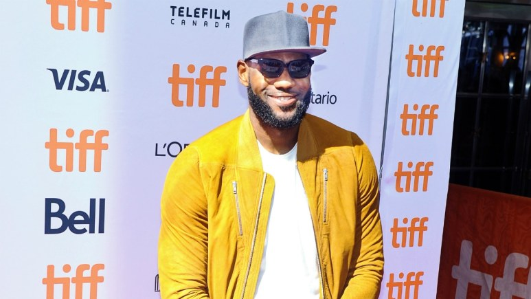 LeBron James. 2017 Toronto International Film Festival