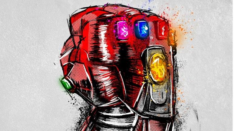 """Thanos glove from """"Avengers: Endgame"""""""