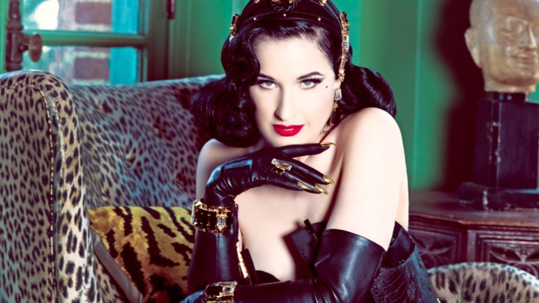 Dita is following up her successful tour with a new one, slated for Europe and Australia. Pic credit; Dita Von Teese