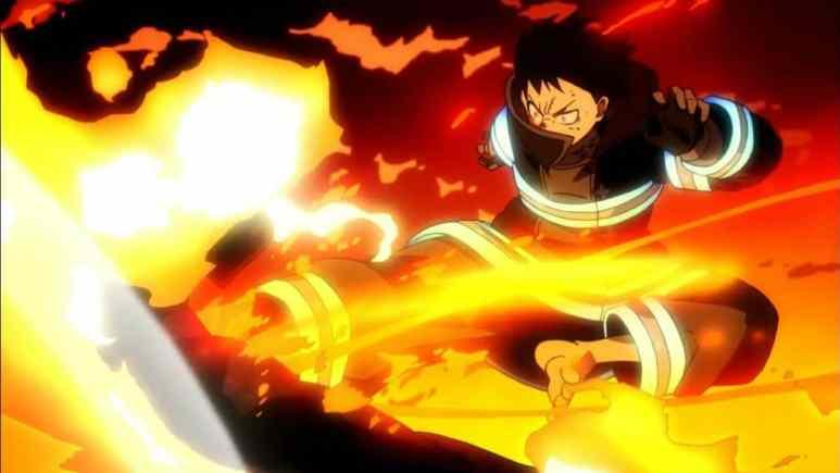 Fire Force anime artwork