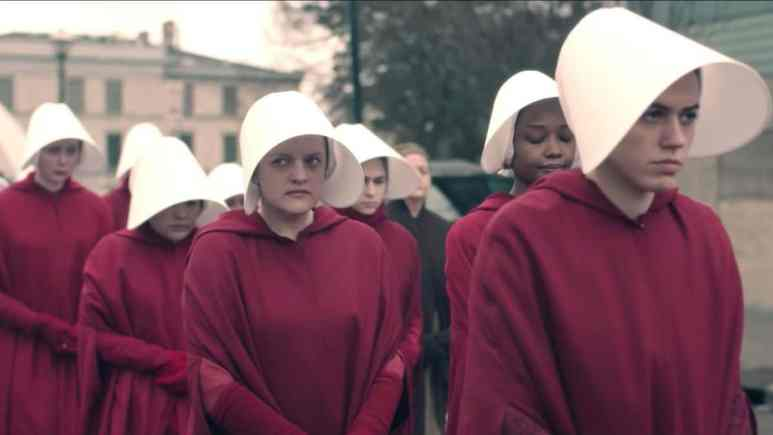 June and other handmaids on the Handmaid's Tale Season 3