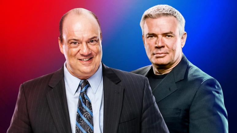 WWE places Paul Heyman and Eric Bischoff in charge of creative on Raw and SmackDown Live