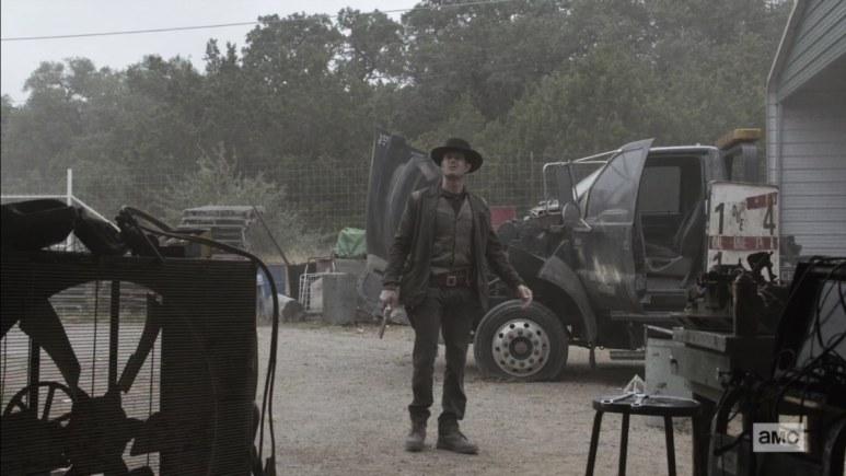 Logan on Fear the Walking Dead