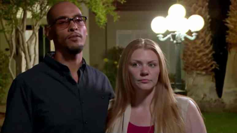 Brittany and Marcelino during Season 2 of Love After Lockup.