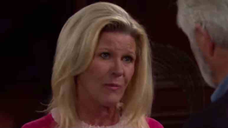 Alley Mills as Pam on The Bold and the Beautiful.