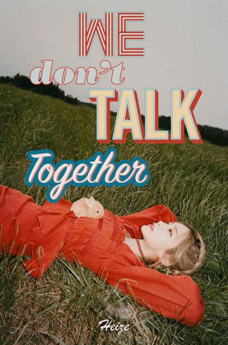 We Don't Talk Together