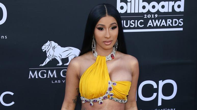 Cardi B. 2019 Billboard Music Awards at MGM Grand Garden Arena