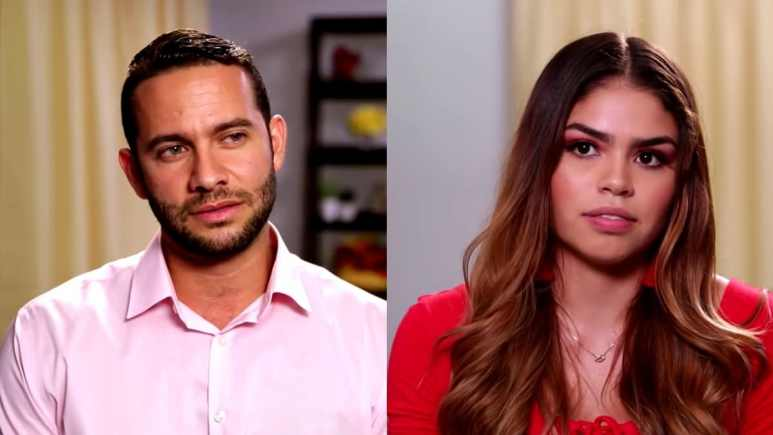 Jonathan Rivera and Fernanda Flores from 90 Day Fiance