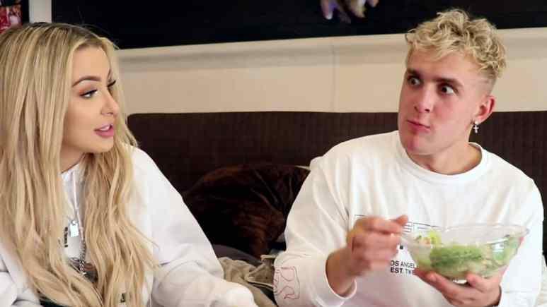 Tana Mongeau and Jake Paul