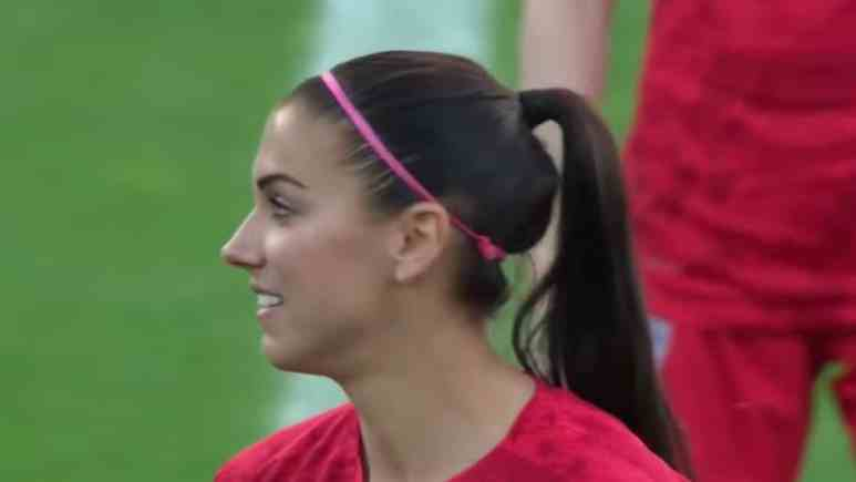 alex morgan and team usa at the fifa women's world cup in france