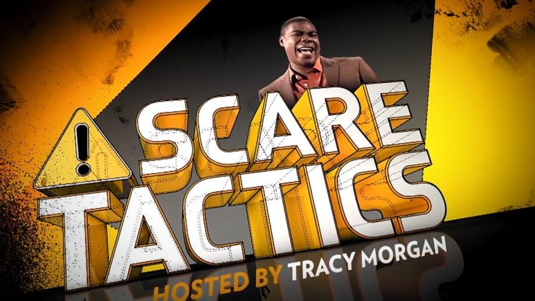 Tracy Morgan was the ticket for Scare Tactics and is back on Netflix. Pic credit: Netflix