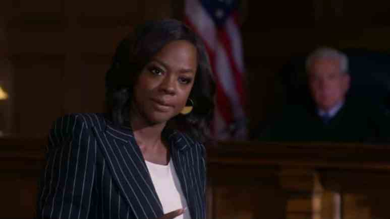 Viola Davis as Annalise Keating on How to Get Away with Murder.