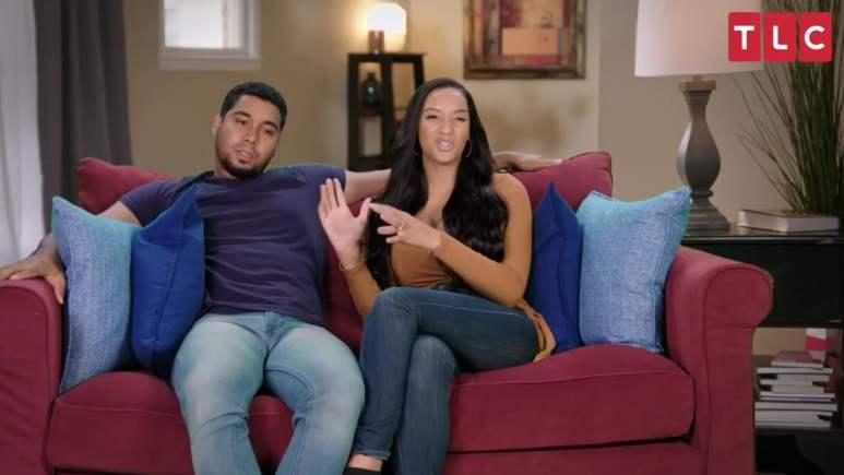 Pedro Jimeno and Chantel Everett on The Family Chantel