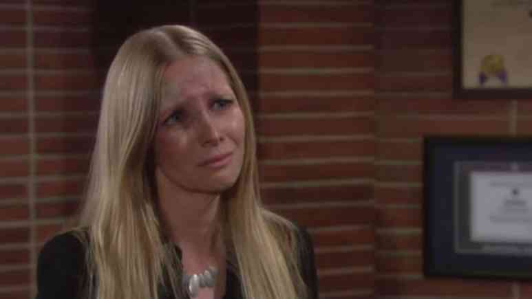 Lauralee Bell as Christine on The Young and the Restless.