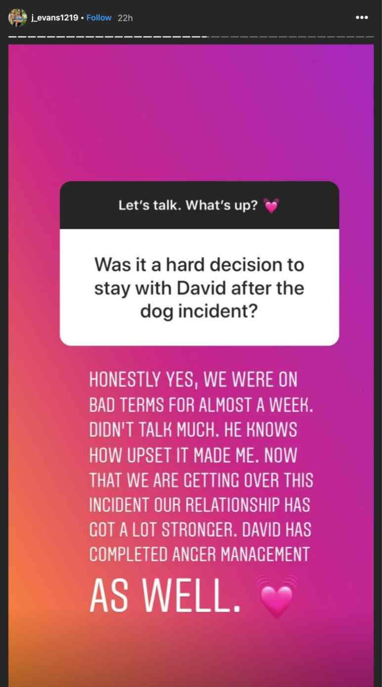 David marriage