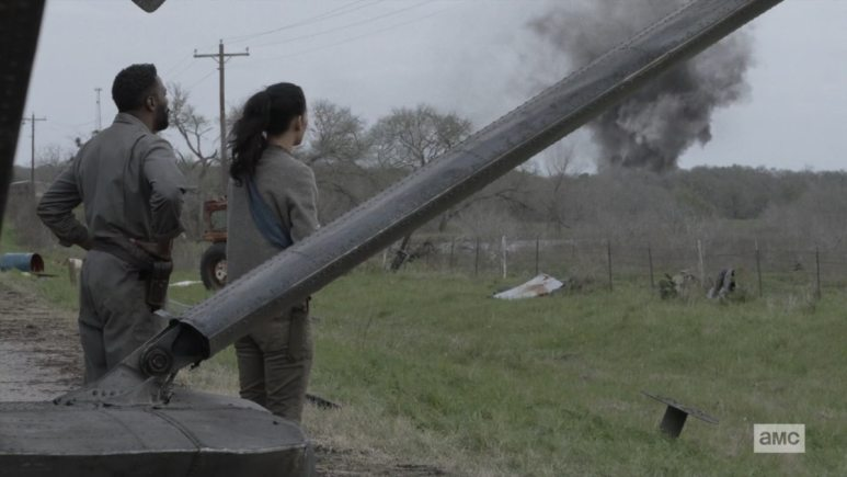 The reactor explodes on Fear the Walking Dead