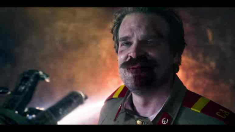 David Harbour as Jim Hopper in Stranger Things