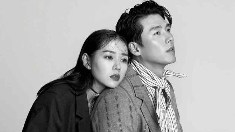 Hyun Bin and Son Ye-Jin