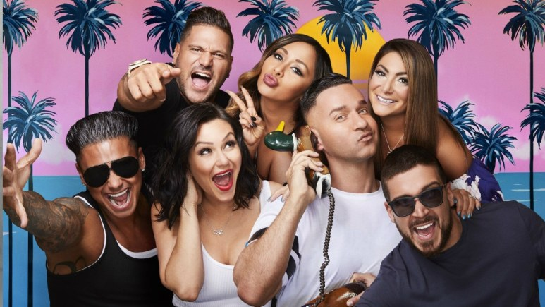 The cast of Jersey Shore: Family Vacation.