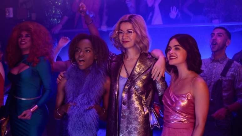 Ashleigh Murray, Julia Chan and Lucy Hale in Katy Keene