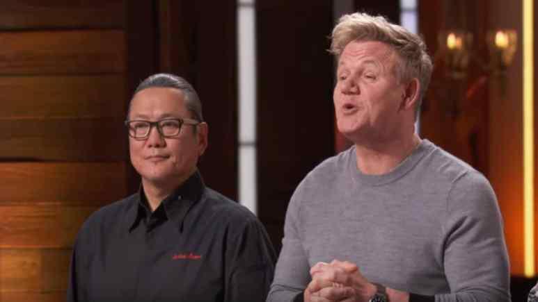 Morimoto And Ramsay On MasterChef