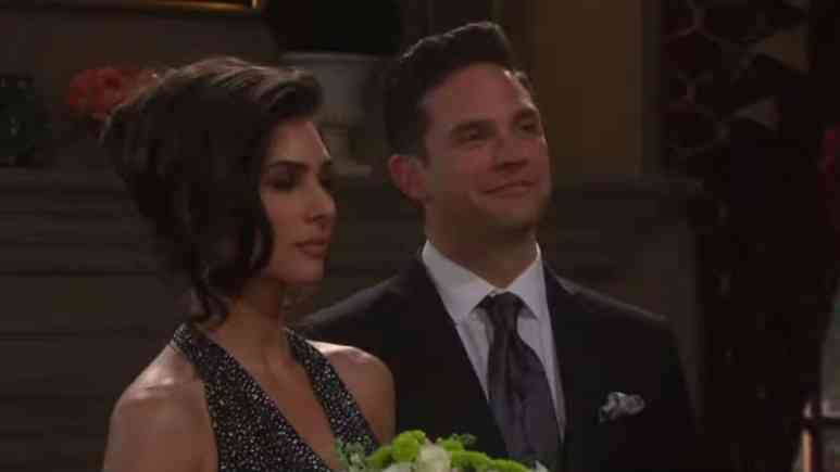 Camila Banus and Brandon Barash as Gabi and Stefan on Days of our Lives.