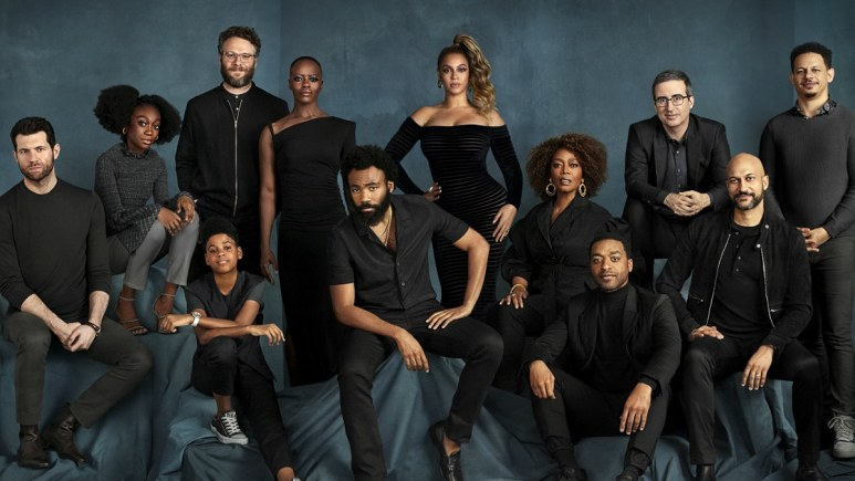 The voice cast of The Lion King